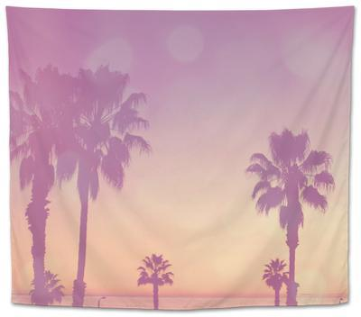 Palm Trees in California by Myan Soffia