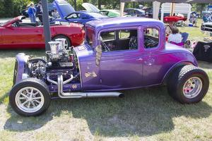 1932 Chevy Roadster Purple by mybaitshop