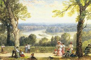 Richmond Hill, Surrey by Myles Birkett Foster
