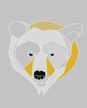 Origami Bear - Portrait by Myriam Tebbakha