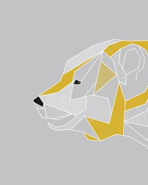 Origami Bear - Profile by Myriam Tebbakha