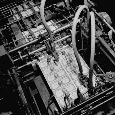 Numbering Machine For Printing Paper Money. Chase Bank Collection of Moneys of the World by Myron Davis