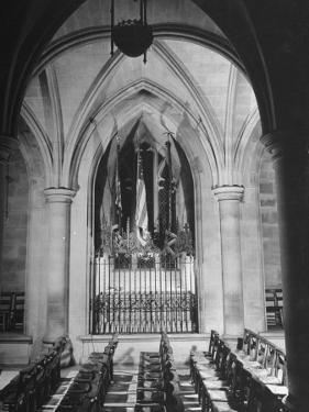 Woodrow Wilson's Tomb in the National Cathedral by Myron Davis