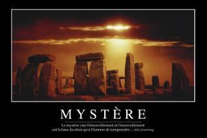 Mystère: Citation Et Affiche D'Inspiration Et Motivation