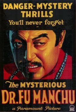 Mysterious Dr. Fu Manchu, 1929