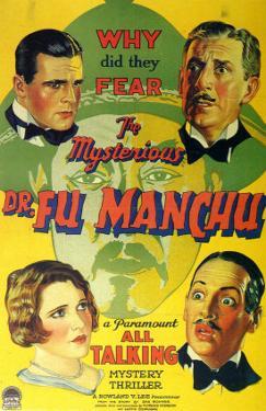 Mysterious Dr Fu Manchu, 1929