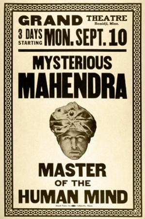 Mysterious Mahendra Master of the Human Mind