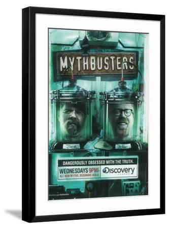 MythBusters--Framed Poster