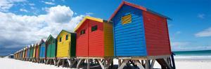 Rainbow Beach Huts by N. Bradfield
