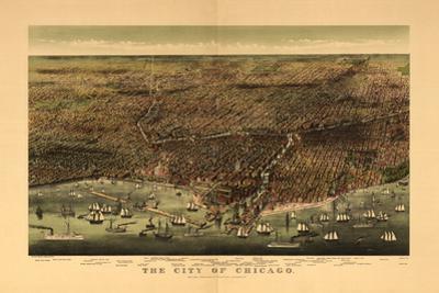 1892 Chicago Map