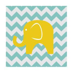 Chevron Elephant by N. Harbick