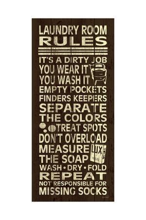 Laundry Room Rules II