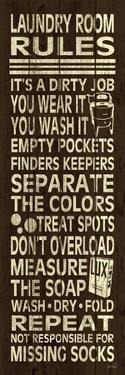 Laundry Room Rules II by N. Harbick
