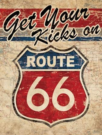 Route 66 II by N. Harbick