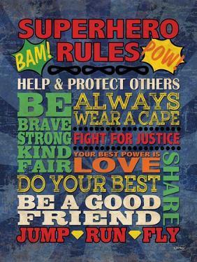 Superhero Rules by N Harbick