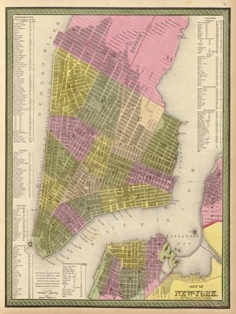 Vintage NYC Map
