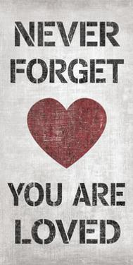 You are Loved by N. Harbick