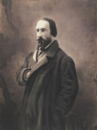 Auguste Vacquerie, C.1865 by Nadar