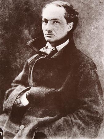 Charles Baudelaire, 1855 by Nadar