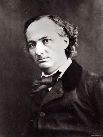 Charles Baudelaire by Nadar