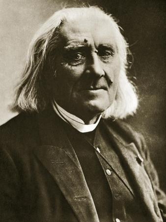 Franz Liszt by Nadar