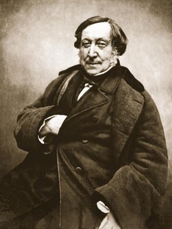 Gioacchino Rossini, 1856 by Nadar