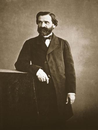 Guiseppe Verdi, 1860 by Nadar
