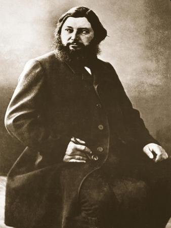 Gustave Courbet, C.1861 by Nadar