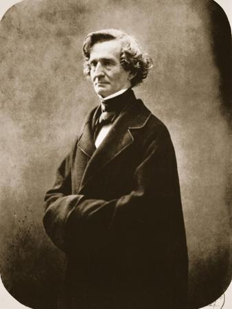 Hector Berlioz, 1863 by Nadar