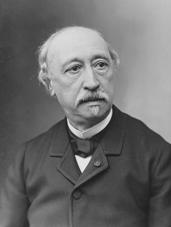 Portrait of Alexandre Becquerel by Nadar