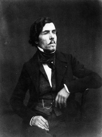Portrait of Eugène Delacroix by Nadar
