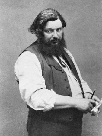 Portrait of Gustave Courbet by Nadar