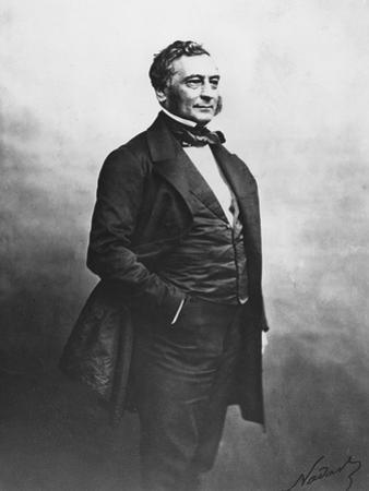 Portrait of Isaac Pereire by Nadar