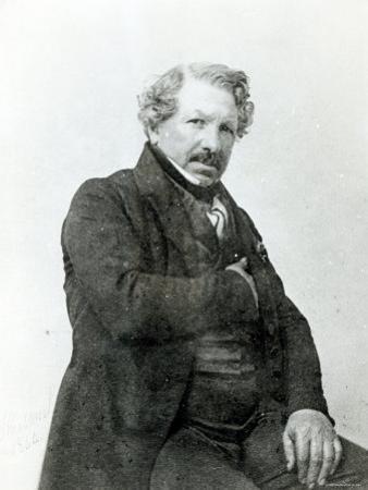 Portrait of Louis-Jacques Daguerre by Nadar