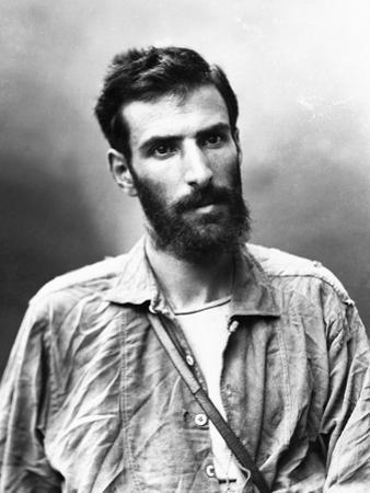 Portrait of Pierre Brazza by Nadar
