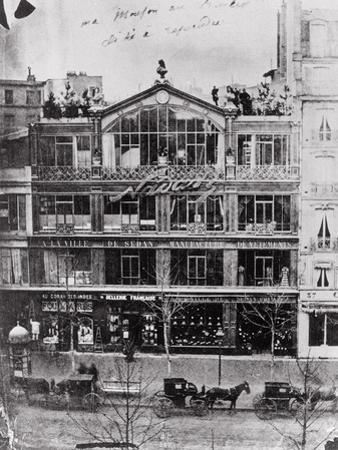 Studio of Nadar at 35 Boulevard Des Capucines, Paris, c.1855 by Nadar