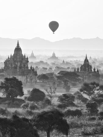 Bagan at Sunrise, Mandalay, Burma (Myanmar) by Nadia Isakova
