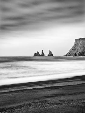 Black Sand Beach at Vik, Iceland by Nadia Isakova