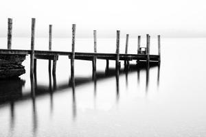 Derwentwater jetty, Cumbria, UK by Nadia Isakova
