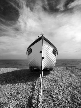 Infrared Image of a Fishing Boat, Dungeness, Kent, UK by Nadia Isakova