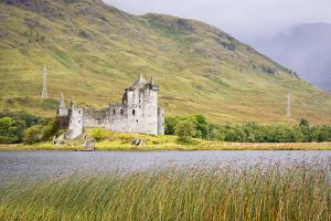 Kilchurn Castle on Loch Awe, Scotland by Nadia Isakova