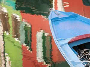 Reflections in Burano, Veneto Region, Italy by Nadia Isakova