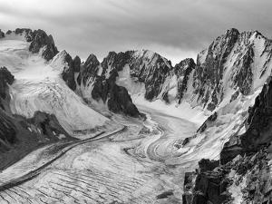 View from Teke-Tor Towards Peaks, Ala Archa National Park, Tian Shan Mountains by Nadia Isakova
