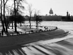 Winter, Saint Petersburg, Russia by Nadia Isakova