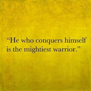 Inspirational Quote By Confucius On Earthy Background by nagib