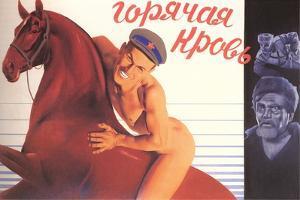 Naked Man on Horse