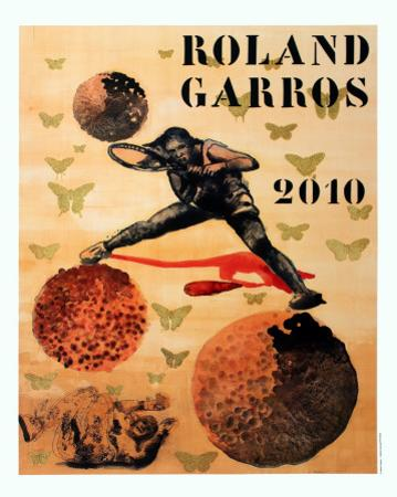 Roland Garros, 2010 by Nalini Malani
