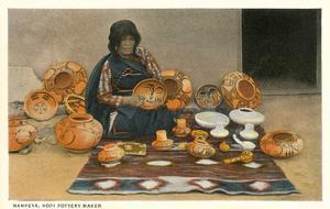 Nampeya, Hopi Pottery Maker