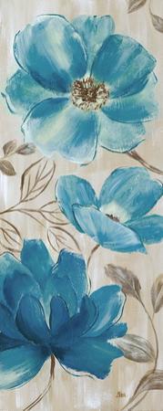 Blue Garden II by Nan