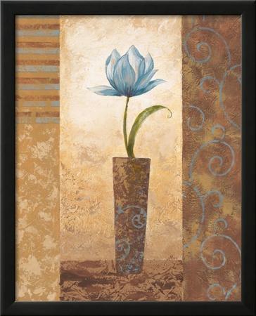 Brazen Blue Tulip by Nan